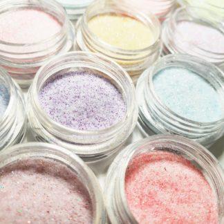 Бархатный песок, мармелад, флок